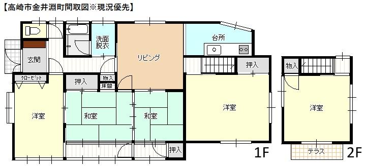 【売戸建】高崎市金井淵町